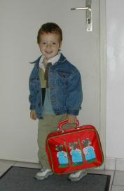 premier jour d'école pour Rémi 2