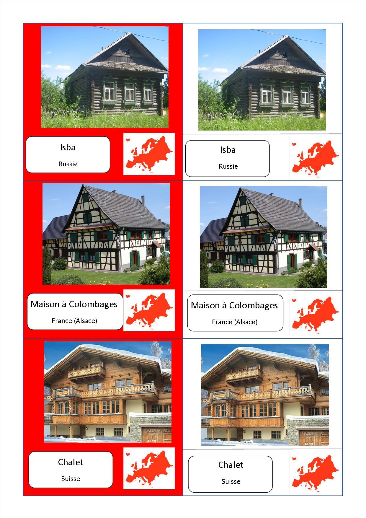 Voici mes cartes de nomenclature montessori sur les - Carte cadeau maison du monde ...