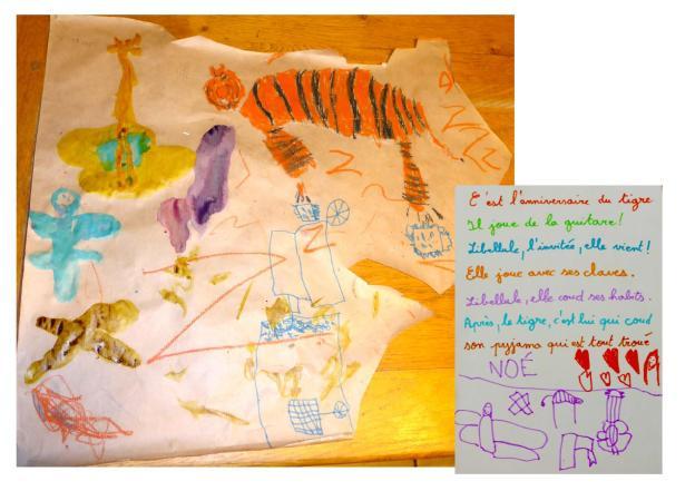 machine - tigre et libellule 2
