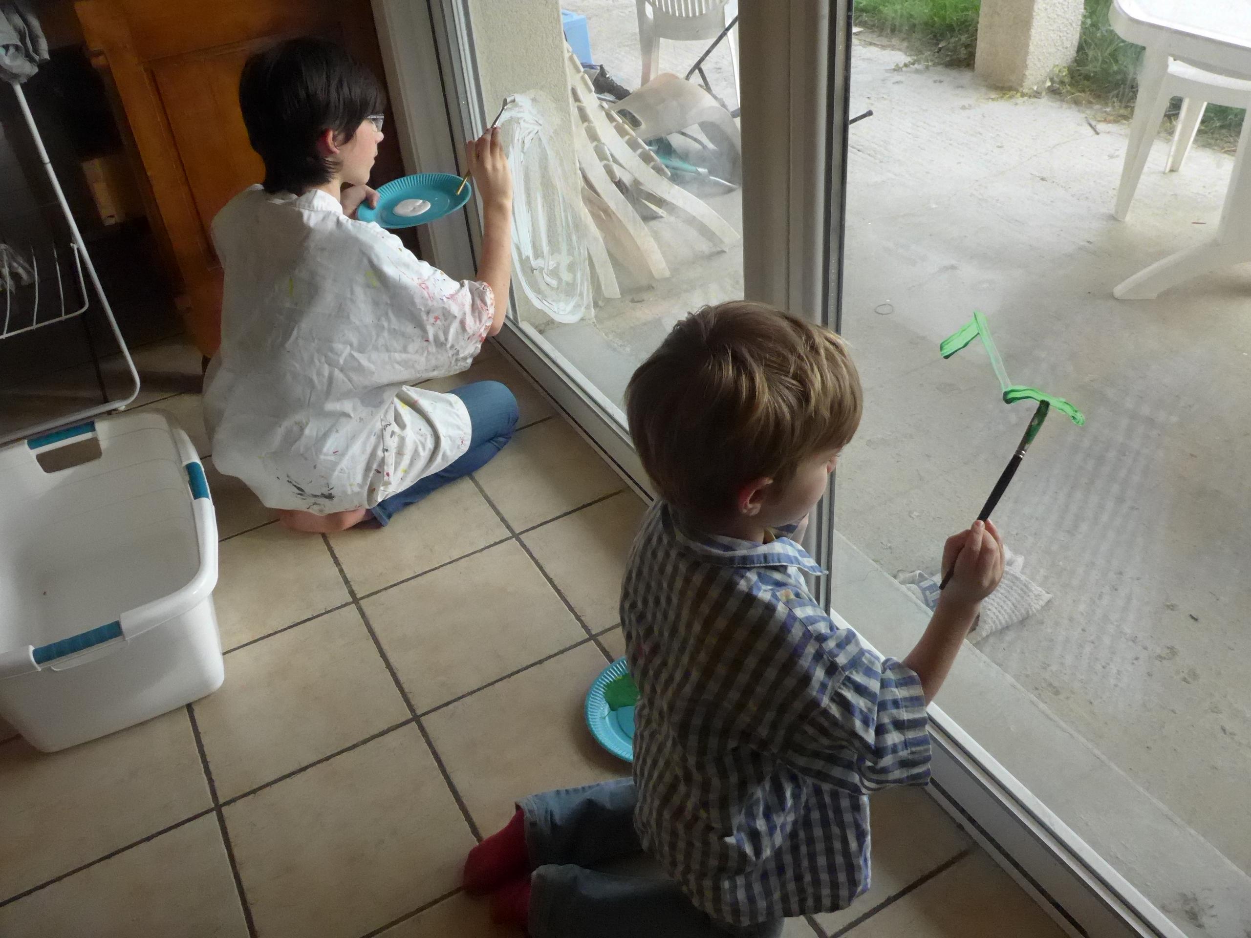 #5B4630 Peindre Sur Les Vitres Des Décors De Noël Activités à La  5491 décorations de noel pour vitres 2560x1920 px @ aertt.com