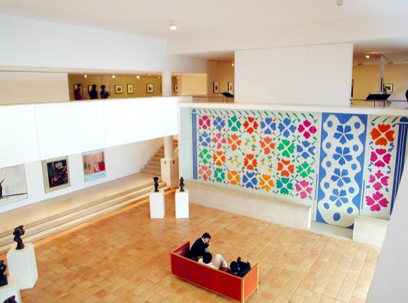 Musée Matisse, Nice. Aile moderne du musée