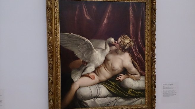 Paul Véronèse (1528-1588) Léda et le cygne 1585